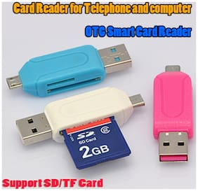Pinnaclz OTG SD and Micro SD Card Reader