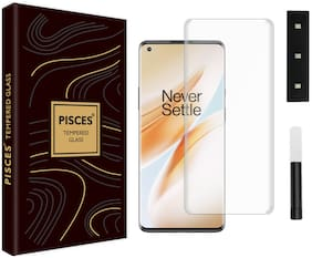 Pisces Nano Liquid Tempered Glass For OnePlus 8 Pro Transparent