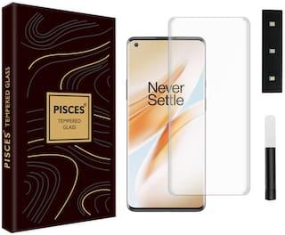 Pisces Nano Liquid Tempered Glass For OnePlus 8 Pro Transparent