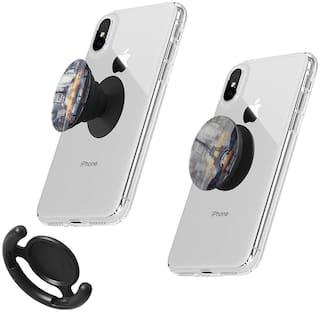 Pisces Pop up Extender and Stand Grip 3D Socket Mobile Phone Holder (Multiple Designs)