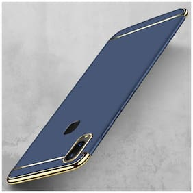Plus Shine Back Cover For Vivo V9 (Blue)