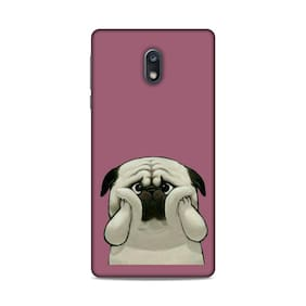 PM PRINTS Back Cover For Nokia 3 (Multi)