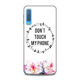 PM PRINTS Back Cover For Samsung Galaxy A7 2018 (Multi)
