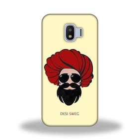 PM PRINTS Back Cover For Samsung Galaxy J2 Pro (Multi)