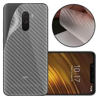 Poco F1 Transparent 3D Mobile Skin for Back