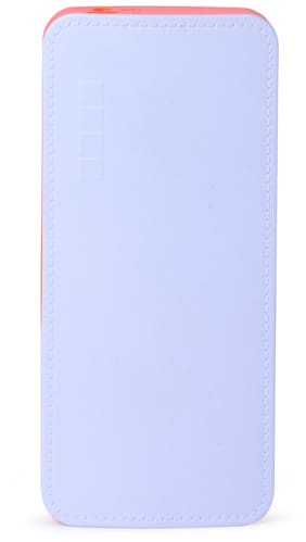 Pomics 10400 mAh Power Bank (P6  For Android Mobile Phones) (WHITE ORANGE  Lithium-ion)