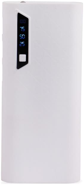 POMICS 15000 mAh Power Bank - White