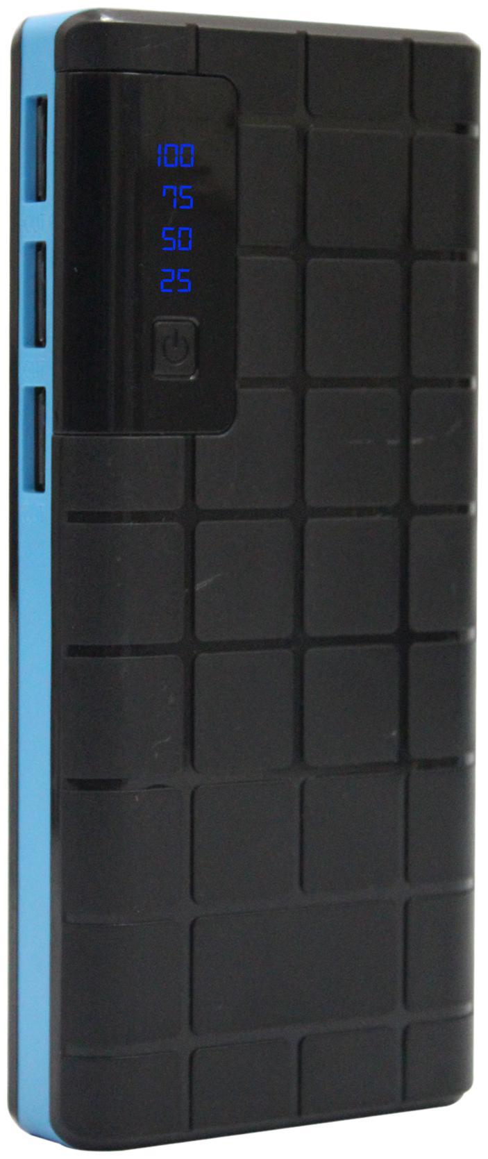 POMICS 15K Choco 15000 mAh Portable Power Bank - Blue & Black
