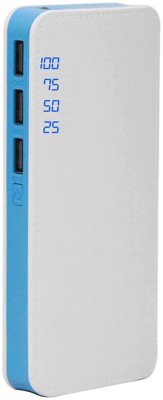 POMICS 15K P6 15000 mAh Power Bank - Blue & White