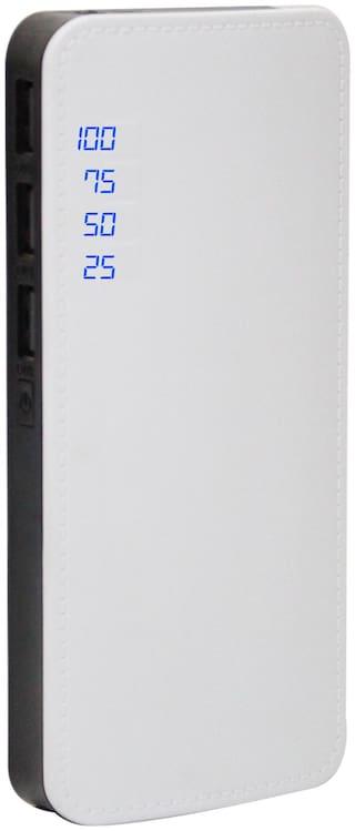 POMIFI 20K P6 20000 mAh Portable Power Bank - Black & White