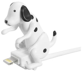 Portable Funny Cute Pet USB Cable Mini Humping Spot Dog Toy Gadget Charger