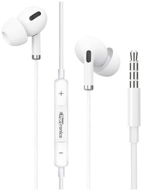 Portronics Conch Delta POR 1146 Conch Delta In-Ear Wired Headphone ( White )