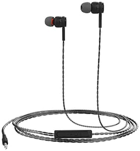 Portronics Conch Gama POR-1025 In-Ear Wired Headphone ( Black )