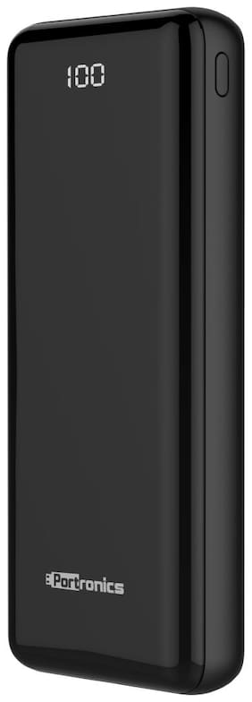 Portronics Mino 20D Built-in 20000 mAh Li-POLYMER POWERBANK for All Android & iOS Phones