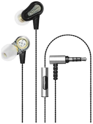 Portronics Por 885 In Ear Wired Headphone ( Black )