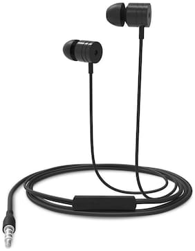 Portronics Por 763 In-ear Wired Headphone ( Black )