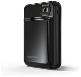 Portronics POR-235 INDO 10D 10,000 mAh Power Bank with Display (Black)