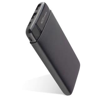 Portronics POR-1109 10000 mAh Slim Power Bank - Black