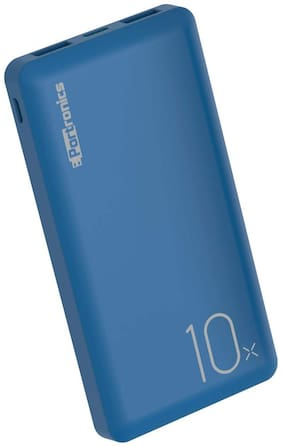 Portronics POR-1047 10000 mAh Portable Power Bank - Blue