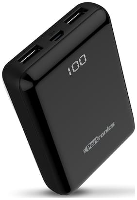 Portronics POR-021 Mino 10D 10000mAh Power Bank (Black)