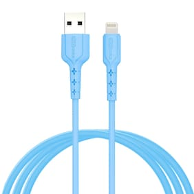 Portronics Data cable & Sync & charge cable - Blue