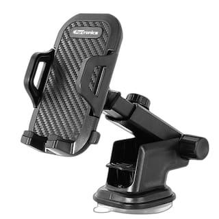 Portronics POR-116 Clamp M Car Mobile Holder (Black)