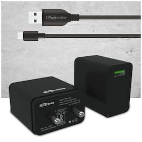 Portronics POR 1103 3 A Fast Charging Wall Charger - 1 USB Port