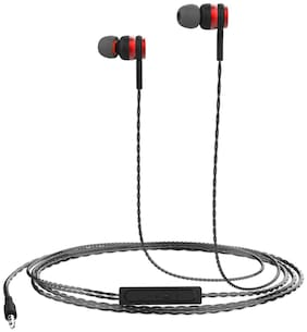 Portronics Conch Gama POR-1070 In-Ear Wired Headphone ( Red )