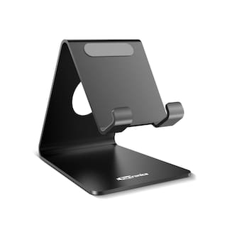 Portronics  POR-122  MODESK Universal Mobile Holder (Black)