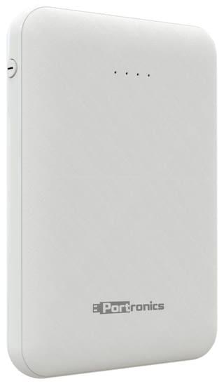 Portronics POR-289 Indo 5   5000mAh Power Bank With Dual Output (White)