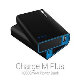 Portronics POR-580 Charge M plus 10000 mAh Power Bank (Black)