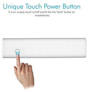 Portronics TORK 10050mAh Power bank (White & Blue)