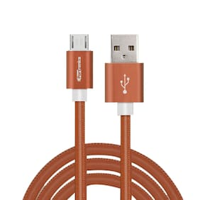 Portronics Turtle USB Cable(Brown)