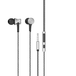 Portronics Conch 210 In-ear Wired Headphone ( Silver )