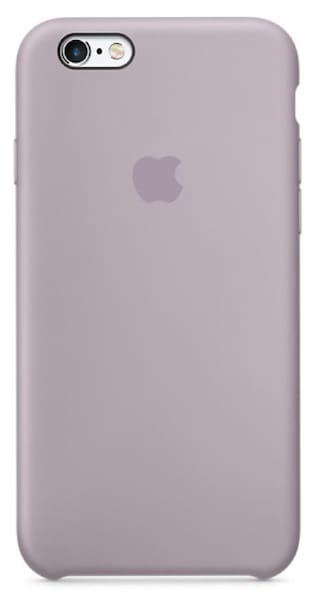 finest selection 53ab9 3c8be Premium Silicone Case for Apple iPhone 6S Lavender