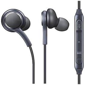 Beat Buff Premium Quality Samsg AKG In-Ear Wired Headphone ( Black )