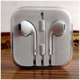 Beat Buff Premium Quality Original Oppo Classic In-Ear Wired Headphone ( White )