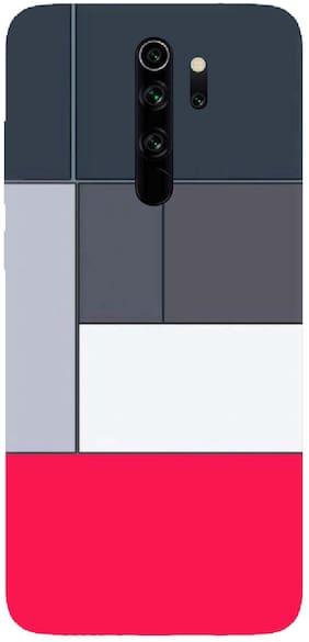 PRINTKING Silicone Back Cover For Redmi Note 8 Pro ( Multi )