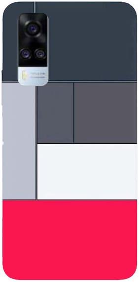 PrintKing Back Cover For Vivo Y51A Multi