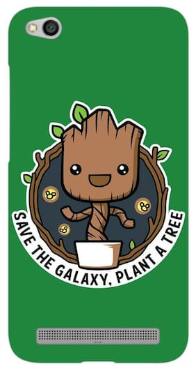 PrintVoo Baby Groot Nature Printed Mobile Case for Xiaomi Redmi 5A