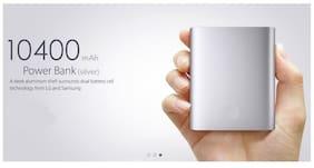probeatz 10400 mAh Power Bank - Silver