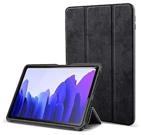 ProElite PU Smart Flip case Cover for Samsung Galaxy Tab A7 10.4 Inch SM-T500/T505/T507;Black