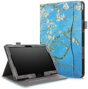 ProElite Smart handstrap Case Cover for Lenovo Tab M10 FHD Plus 10.3 X606V / TB-X606F / TB-X606X (Flowers) Multi