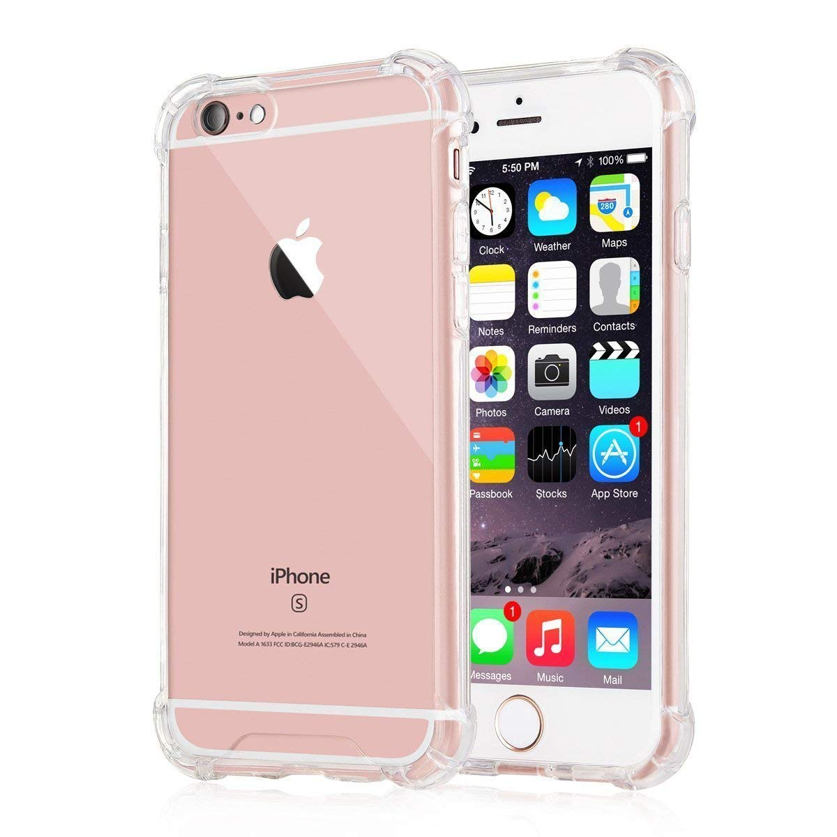 Apple iPhone 6   Apple iPhone 6s TPU Back Cover By EXOTIC FLOURISH   Transparent   by Exotic Flourish