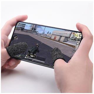 PUNIX  - Mobile Game Controller Finger Sleeve Anti-Sweat Breathable Full Touch Screen Sensitive Shoot Aim Joysticks Finger Set