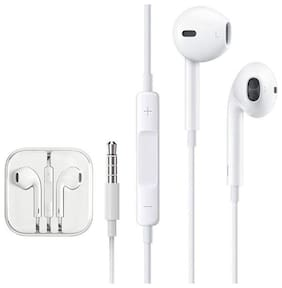 PUNIX In-Ear Wired Headphone ( White )