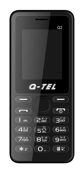 Q-TEL Q2 Dual SIM Feature Phone Blue