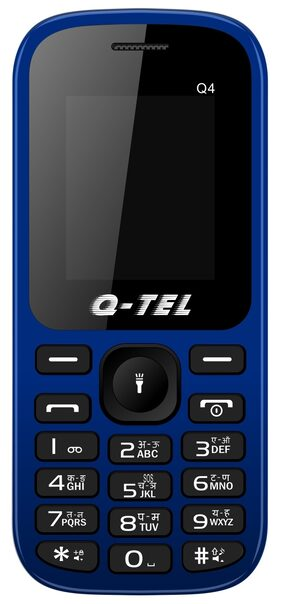 Q-TEL Q4 Dual SIM Feature Phone Blue