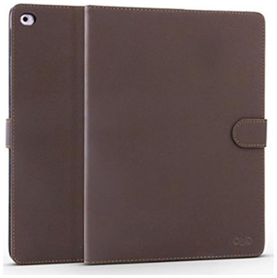 Qinda Folio Cover For Apple iPad Mini 4  Dark Brown