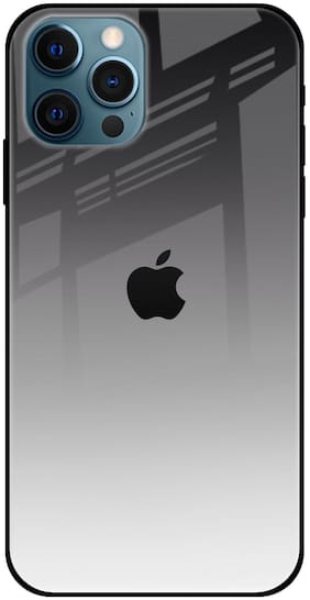 Qrioh Silicone Back Cover For Apple iPhone 12 Pro Max ( Multi )
